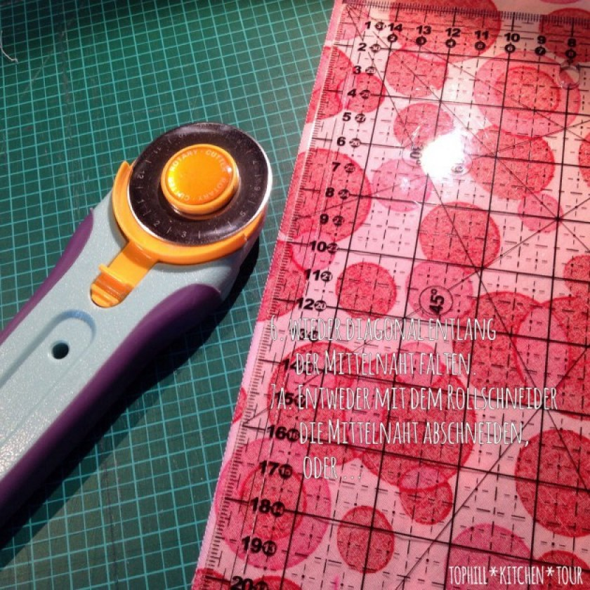 Kissen Patchwork Tutorial