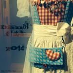 Dirndl-Clutch 2014 ❤️ Taschenspieler Sew Along