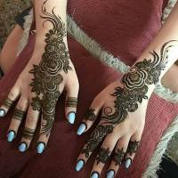 Latest Diwali Mehndi Designs for Girls