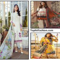 Latest Indian luxurious Lawn Dresses Fashion for Women's