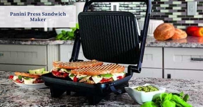 Panini Press Sandwich Maker