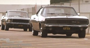 Recreation on legendary chase from Bullitt at Silverstone!