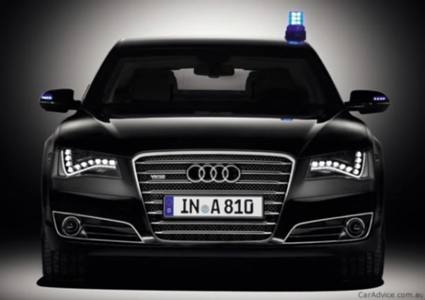 Audi has to offer and armored version of A8