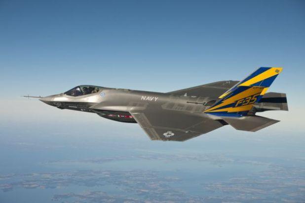 Ford Mustang as the Lockheed Martin F-35 Lightning II