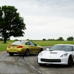 Bmw M4 vs Chevrolet Corvette Stingray