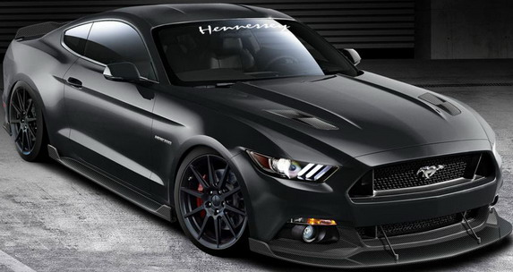 hennessey ford mustang 1