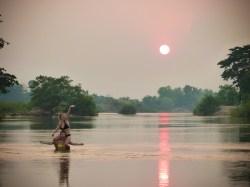 Sunset sur le Mékong II