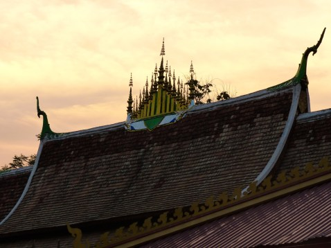 Les toits de Luang Prabang