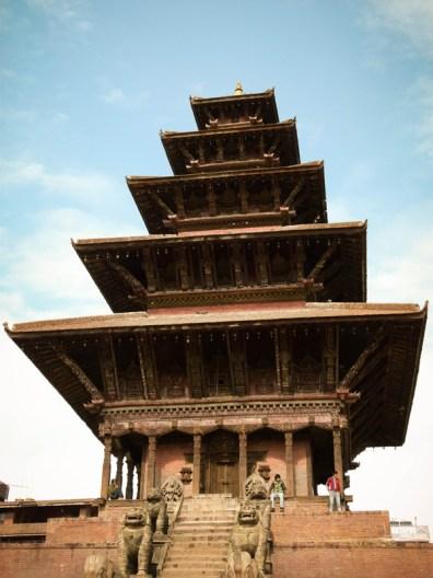 Temple de Durbar Square à Bhaktapur © Sandy