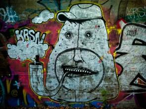 Énergumène à pipe © Topich