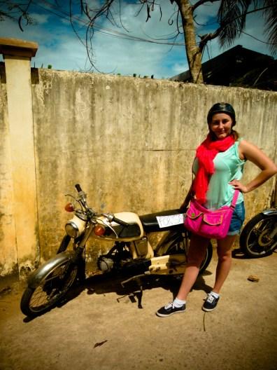 Zezette la bikeuse