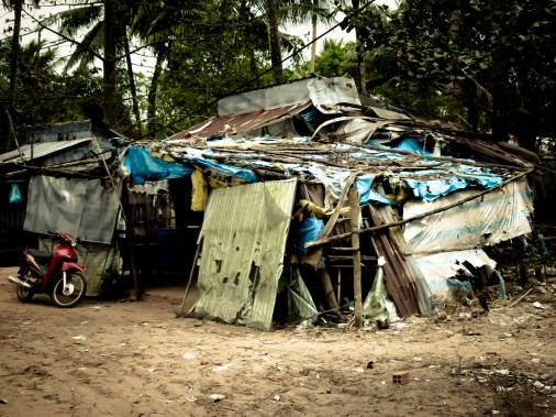 Le bidonville