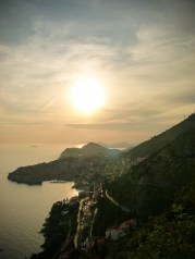 Dubrovnik's sunset © Sandy