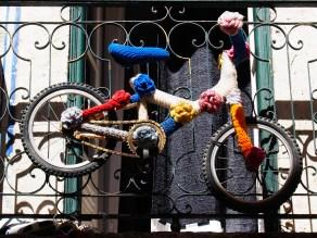 Rainbow bike