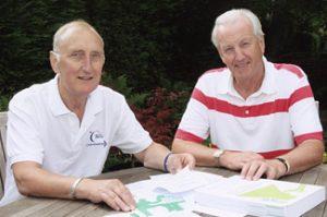 Topic of Cancer founders, Nigel Lewis Baker and John Blackburn