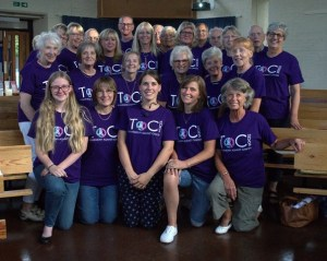 Image of the ToC Voices choir.