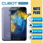 Cubot Note Plus - 4G Phablet (3GB, 32GB ROM) Fingerprint  | Buy Online