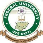 Federal University, Oye-Ekiti, Ekiti State (FUOYE) Admission List for 2019/2020 Academic Session