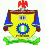 Federal College of Education Potiskum, School Fees Scheduled for 2019/2020 Academic session