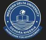 Western Delta University POST UTME Cut off marks 2019/2020 Admission Exercise