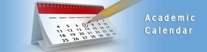 Arthur Jarvis University Academic Calendar