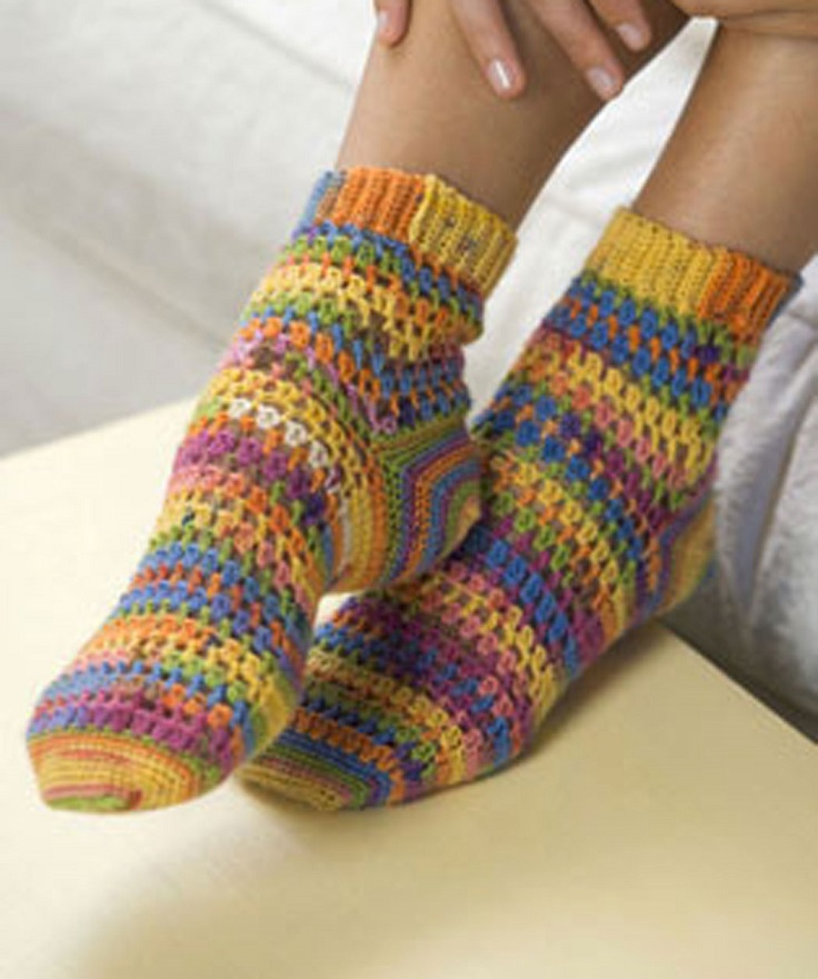 Knee High Knitted Sock Patterns