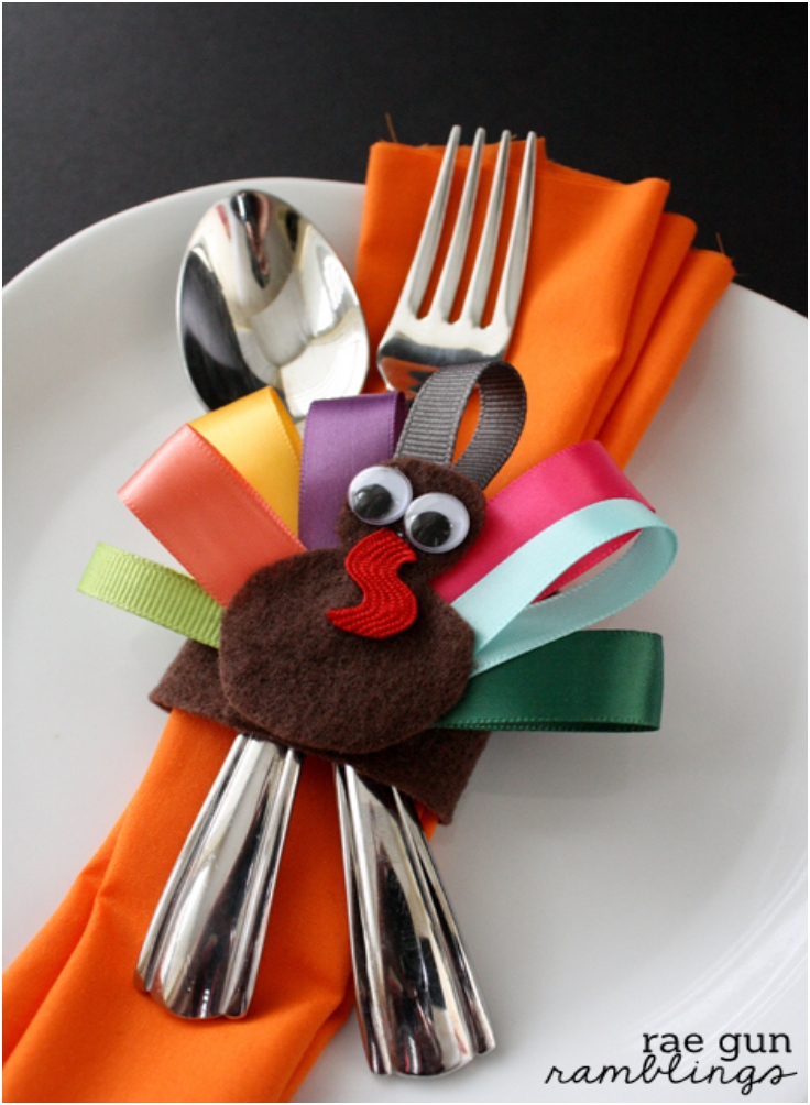 Top 10 DIY Thanksgiving Napking Rings Top Inspired