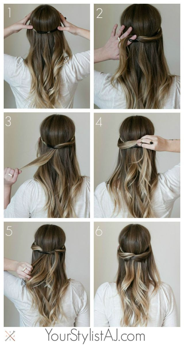 hairstyle tutorial: simple hairstyle tutorials