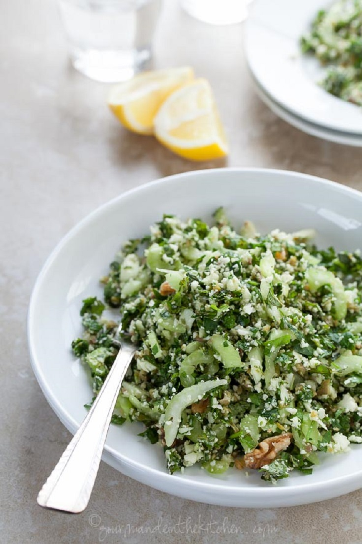 Cauliflower Tabbouleh Tabouli Salad
