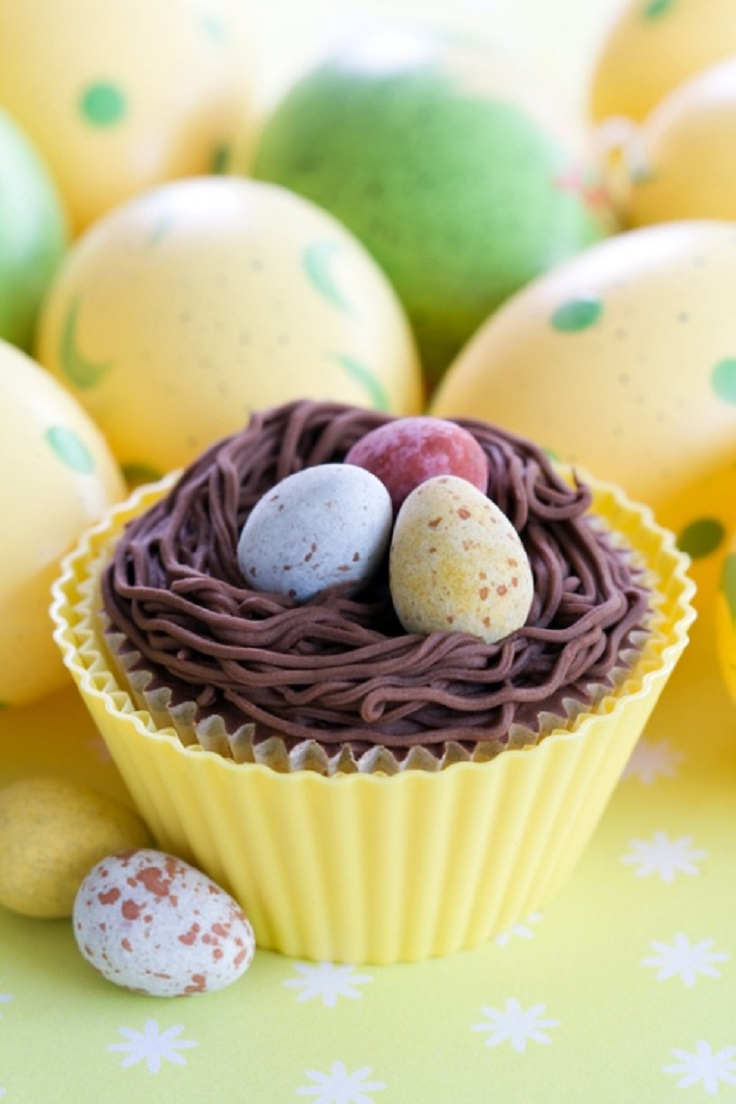 Easter Cupcakes Kids