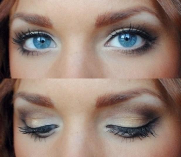 Bridal Makeup For Brunettes With Blue Eyes Makeupsite