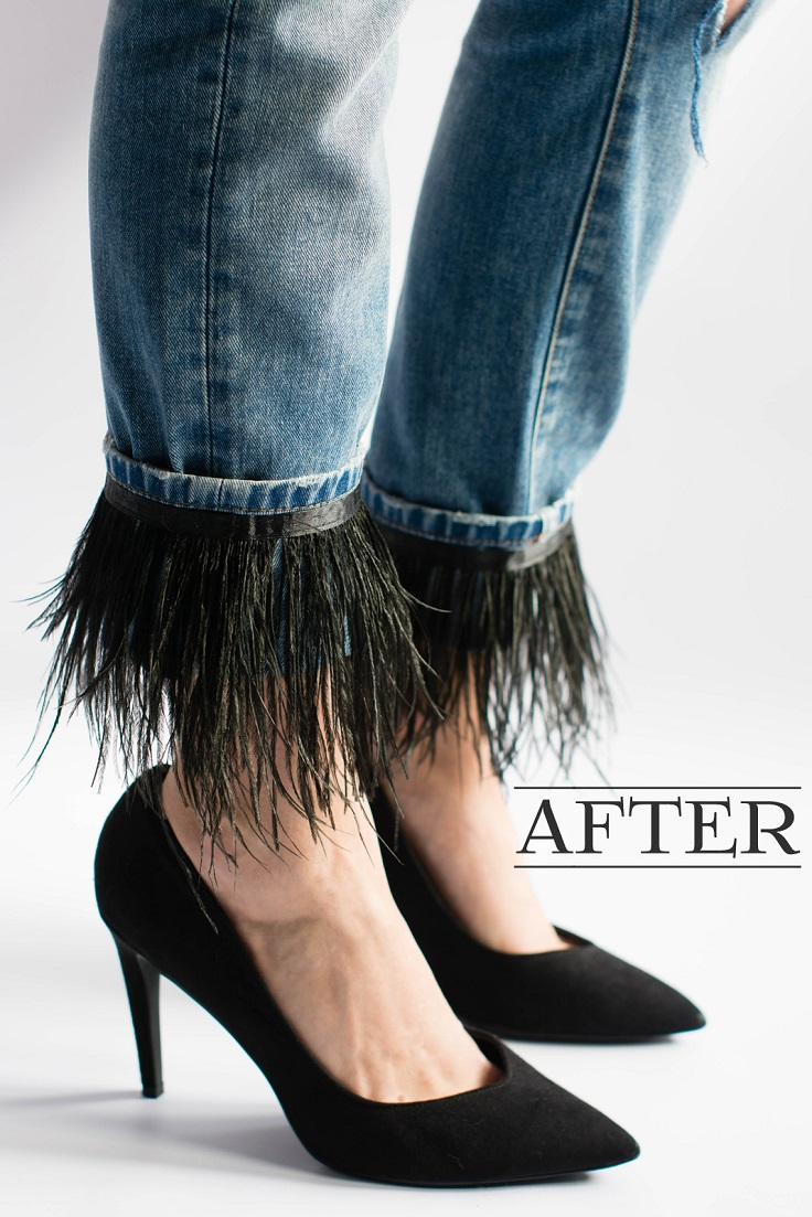 TOP 10 DIY Tricks For Your Boring Old Jeans