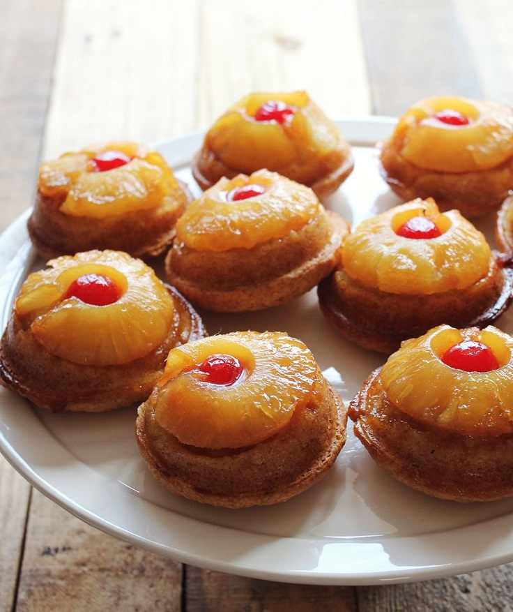 mini-pineapple-upside-down-cakes