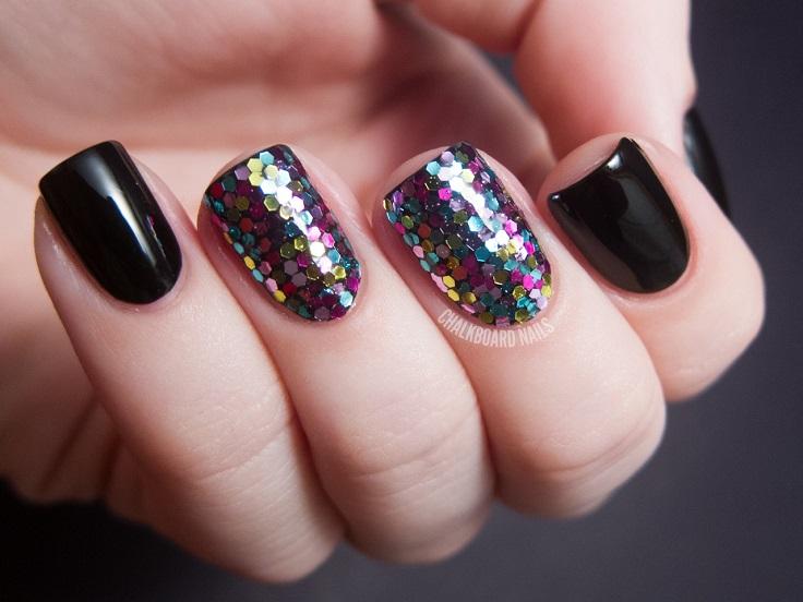 في هذه المقالة نعرض لكم عشرة مسمار الأفكار الفنية التي تستخدم لمعان. انهم جميعا في غاية البساطة، ولكن خلاقة جدا وتبدو مذهلة! #nailart #glitter