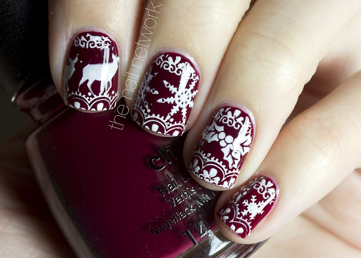 Top 10 Cutest Winter Inspired Nail Art Ideas