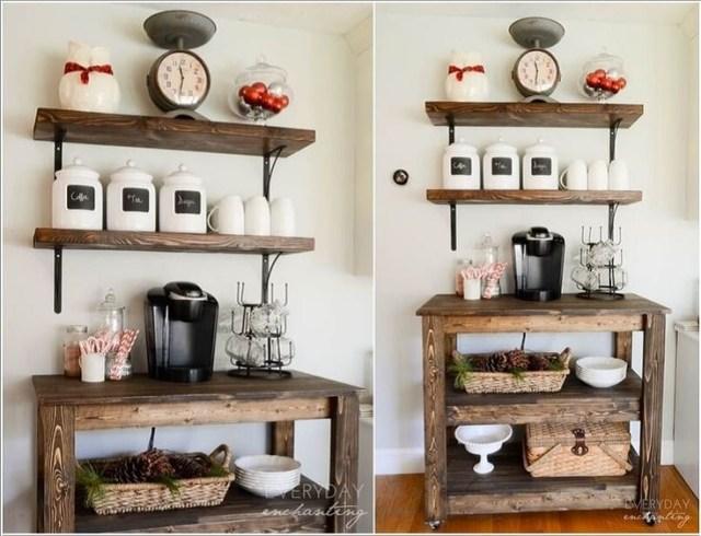 Rustik-Kahve İstasyonu