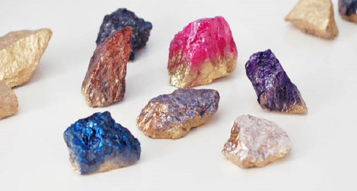 7. Faux Crystals