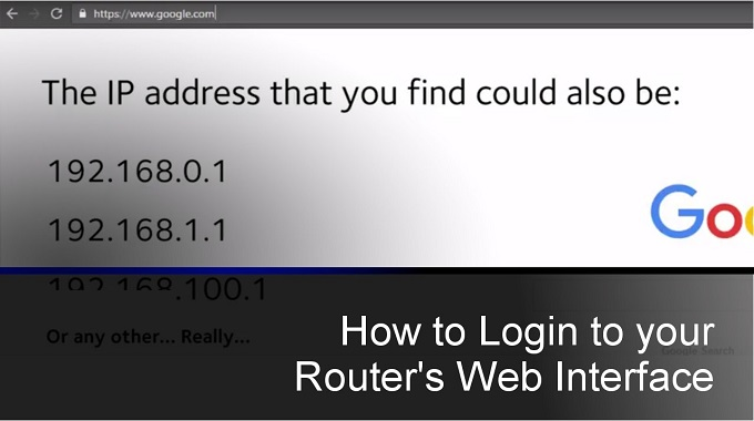 A Guide to Find Your Router's Login and IP Address