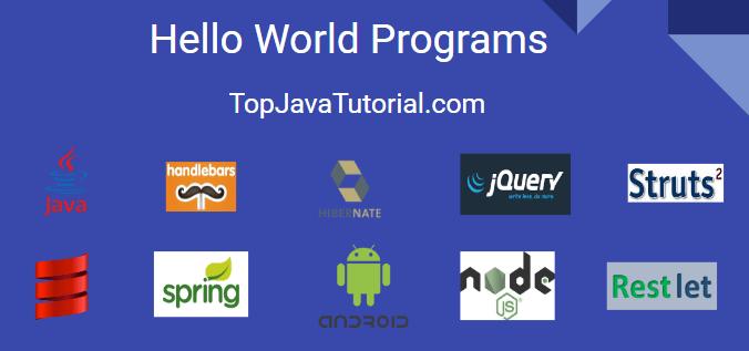 Hello World Programs
