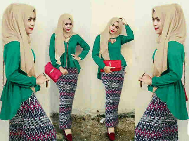Baju Hijau Tua Cocok Dengan Jilbab Warna Apa Model Baju Terbaru 2019