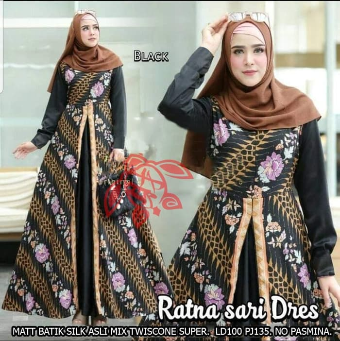 Terkini 54+ Model Baju Jubah Batik