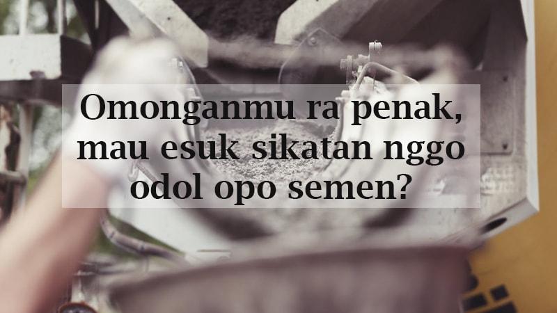 Kumpulan Kata2 Gokil Bahasa Jawa Blog Ketawa