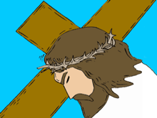 Jesus was killed on the cross