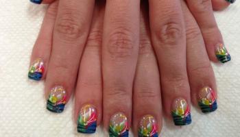 Blue tiger in vegas nail art designs by top nails clarksville tn tiger stripe fun nail art designs by top nails clarksville tn prinsesfo Image collections