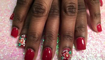 Wedding bells 3d nail art designs by top nails clarksville tn anniversary lily 3d nail art designs by top nails clarksville tn prinsesfo Choice Image