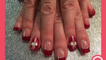 The gift of mistletoe nail art designs by top nails clarksville sexy christmas gift nail art designs by top nails clarksville tn prinsesfo Choice Image