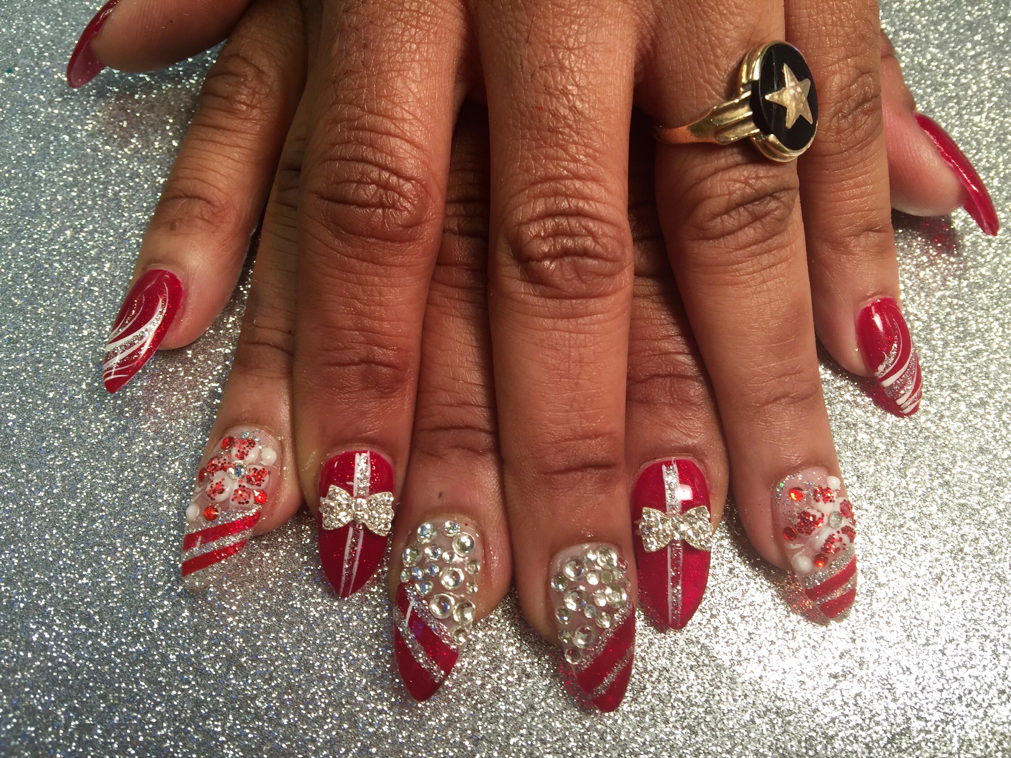 Sparkling christmas presents nail art designs by top nails sparkling christmas presents nail art designs by top nails clarksville tn prinsesfo Gallery