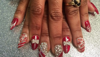 Christmas present nail art designs by top nails clarksville tn sparkling christmas presents nail art designs by top nails clarksville tn prinsesfo Choice Image