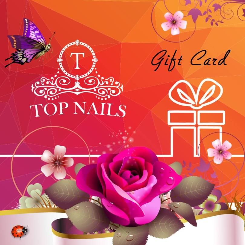 Happy Mother's Day Top Nails Gift Card