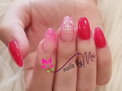 No primer, no monomer, healthy SNS dip powder nails by Mai